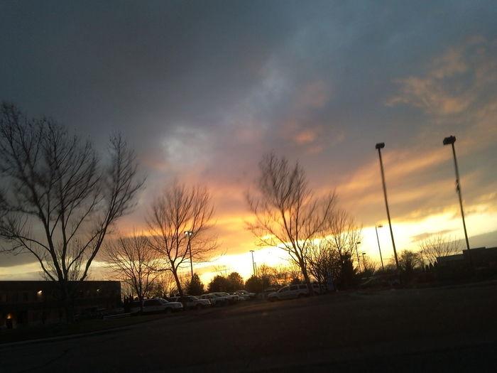 March 5, 2012. Boise, Idaho Clouds Sunset Skyporn Sky