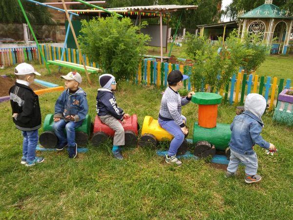 Детский сад деткиконфетки🍬🍭 паровозик