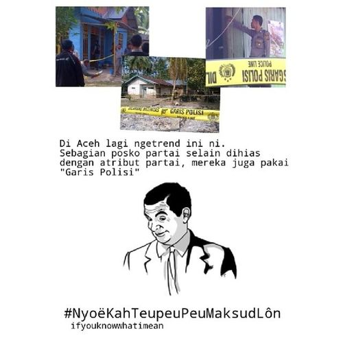 Ifyouknowwhatimean Aceh Meme