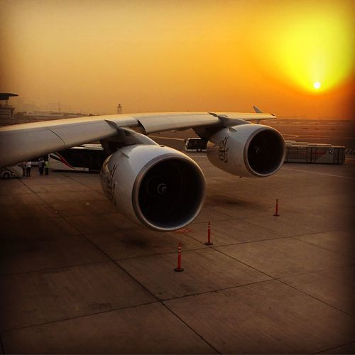 Airport emiratesairlines airbus a380 travel airtravel sunrise Jet Engine Aircraft Wing Commercial Airplane Aerospace Industry First Eyeem Photo Emirates Emiratesairline Dubaiairport Airport Airportramp Ramp Airportlife