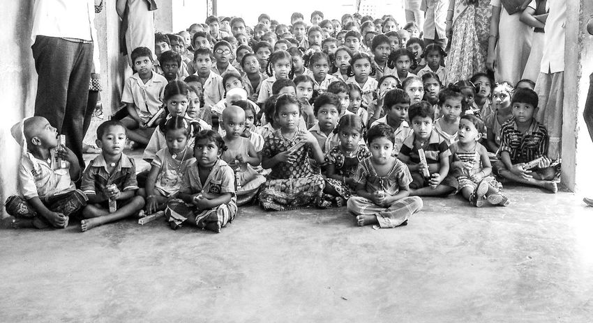 Hii Hello World Looking At Camera Government School Colgate Smile Xperiaphotography RuralIndia Future Generation Rural Scene Arrangement StudyTour The Colour Of School .. Some schools Need to be upgraded still especially In developing countries and so this pic is in Black and White.
