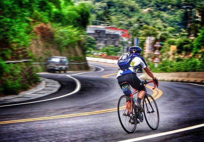 1070519 EyeEm EyeEm Best Shots Transportation Bicycle Motion Sport Ride Riding Helmet Road