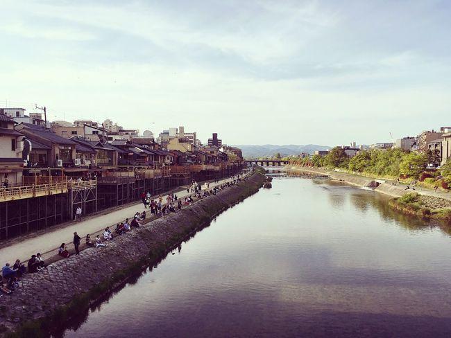 四条大橋 祇園四条 河原町 京都 Kyoto Kyoto, Japan Hello World 3XSPUnity Travel Destinations Relaxing Enjoying Life Day