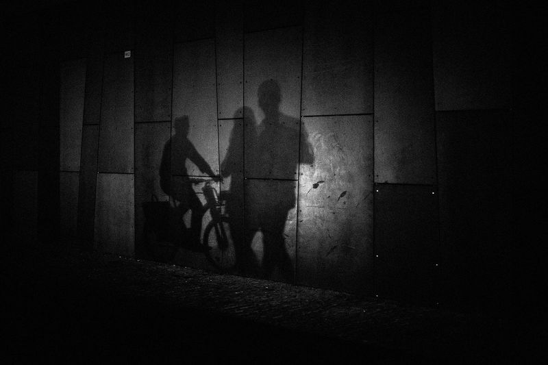 Capture The Moment The Week on EyeEm Adult Architecture Blackandwhite Building Built Structure Canonphotography Dark Domestic Room Full Length Indoors  Leisure Activity Lifestyles Light And Shadow Men Monochrome Night One Person Real People Shadow Sitting Standing Wall - Building Feature Women The Street Photographer - 2018 EyeEm Awards
