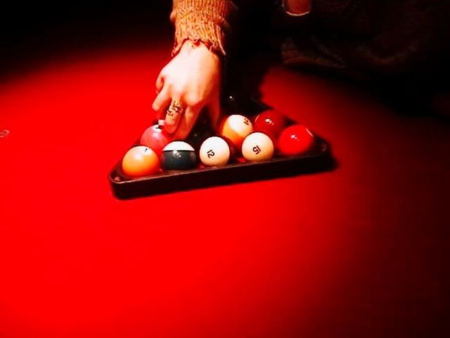 Human Hand Pool Ball Red Sport Arts Culture And Entertainment Nightlife Relaxation