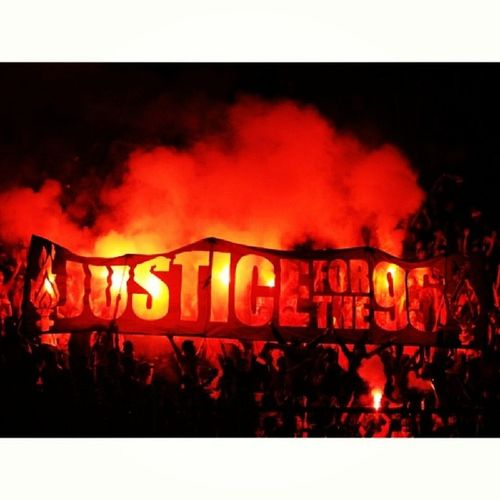 Justice For The 96 JFT96 YNWA