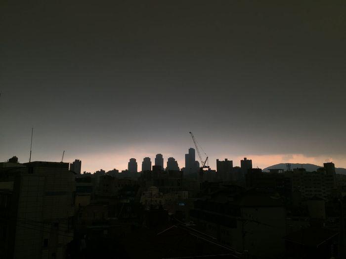 Dark clouds of
