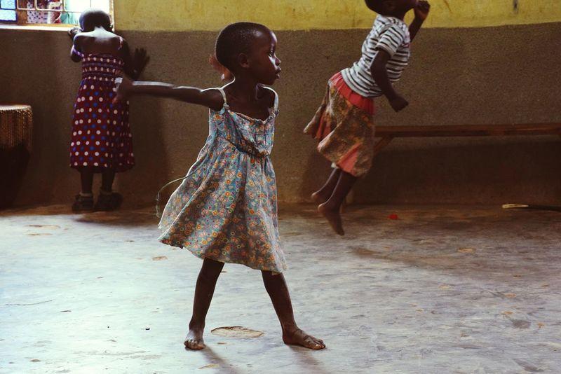 The Street Photographer - 2017 EyeEm Awards Full Length Dancer Children Only Girls People Motion Indoors  Day Uganda 2017