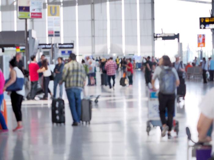 Popular airport