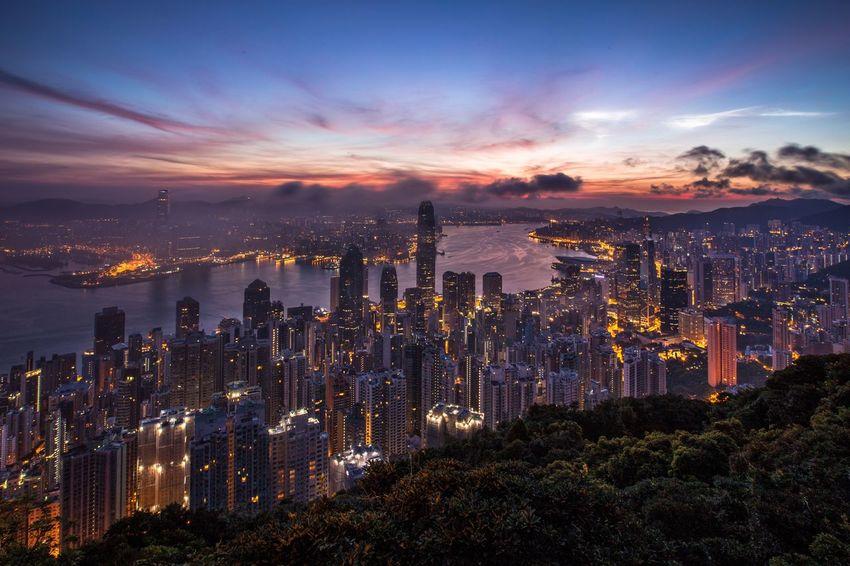 Night Clouds And Sky Photography Hong Kong HongKong Cityscapes