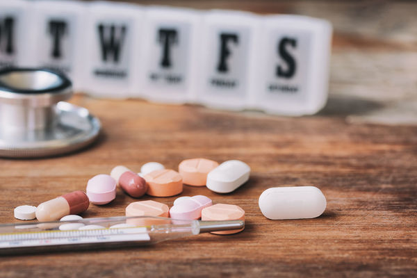 Desk Drug Drugs Hospital Medicine Pharmacy Practice Remedy Wood Ailing Check Up Clinic Close-up Equipment Healthcare And Medicine Illuminated Indoors  Influenza Medical No People Pharmaceutics Pill Sick Table Vaccine