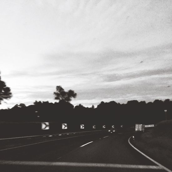 Highway Photography Blackandwhite Traveling Getting Inspired OpenEdit Open Edit FromMyDoorstep