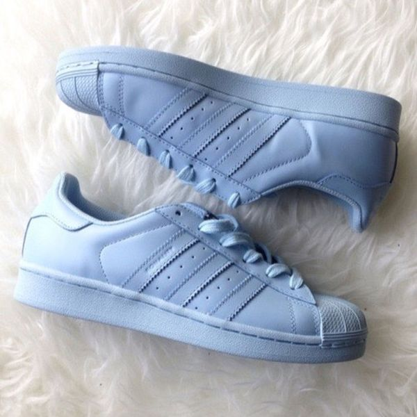 Tumblr Adidas Supercolor Bleu