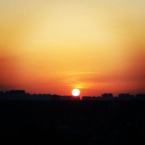 Sunset HDR Podolsk