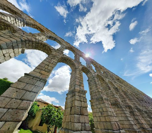 Aqueduct of Segovia (Spain) Aqueduct Acueducto Segovia SPAIN España Visitspain