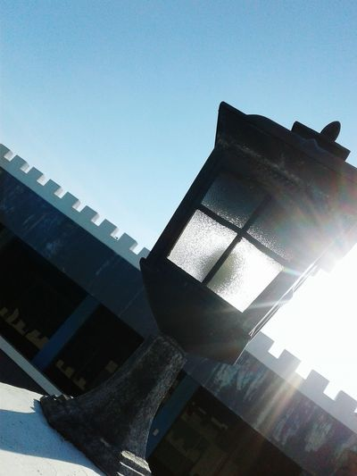 The sun really is brighter than a lantern. Especially if the lantern is off😂 Sun Hiding Behind A Lantern EyeEmNewHere