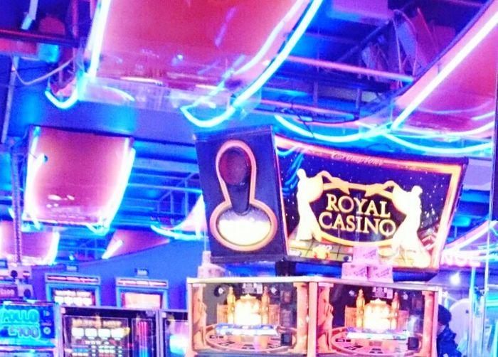 All The Neon Lights Arcade Games at Chinatown London Uk Royal Casino Casino Royale Casino