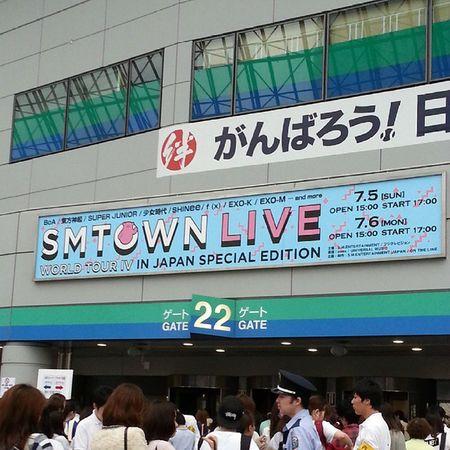 GG~♪♪ SMTown  GirlsGeneration Party 東京ドーム live