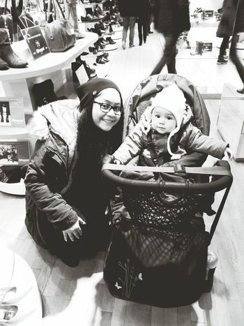 Out With My Little Sister ❤ I Love Her <3 Blackandwhite :$