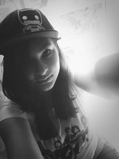 Batman hat!! Selfies! Thats Me ♥