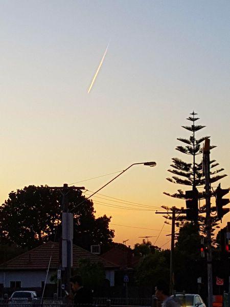 Phenomena @Dusk No People Outdoors Sky Duskview Colours Of Nature Nightsky Stars Trees Night Sky