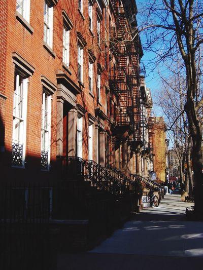 New York Streetphotography Sunny Day Architecture Showcase: January Sunny Winter Day Trees Balcony Street Photography Walking Around Urban Geometry Urbanphotography