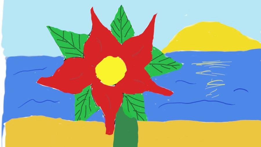 Ihihihi Sunset Flower