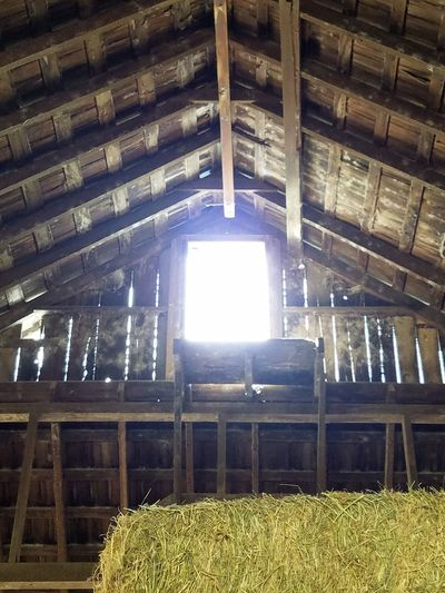 The Light Barn Window The Way To Outside Outside Sunlight Hay Barn Barn Old Barn