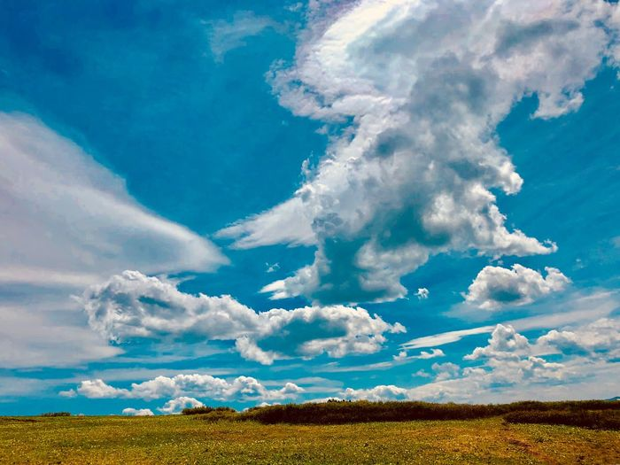 Cloud - Sky Beauty In Nature Sky Landscape Scenics - Nature Tranquility Tranquil Scene Nature