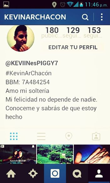 Follow Me On Instagram @KevinArChacon