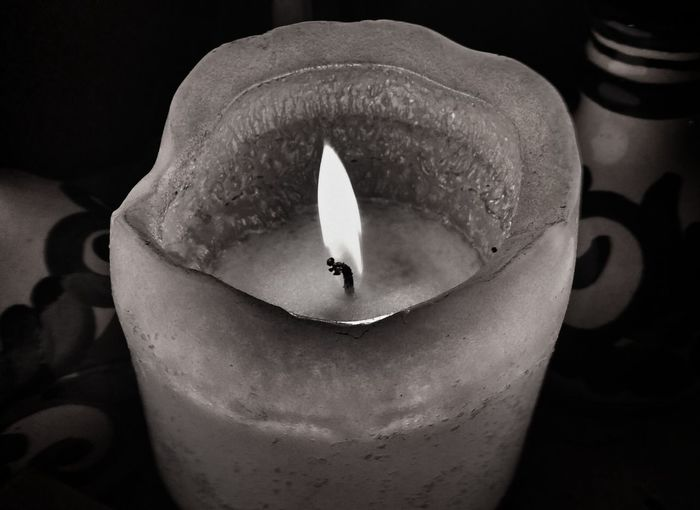 GN EE..🌌⭐⭐.For The Love Of Black And White Black Background Candle Light AMPt - My Perspective From Where We Stand Every Picture Tells A Story... Black And White Photo Burning Flamable Hot