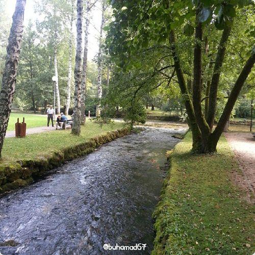 حديقة نبع نهر البوسنة في سراييفو البوسنة_والهرسك Bosna River spring in Sarajevo Bosnia_Herzegovina