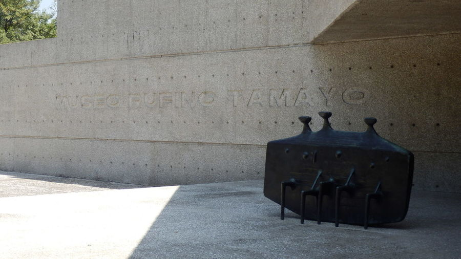 Architecture City Life Concrete Day Modern Architecture Museum No People Outdoors Sculpture Tamayo