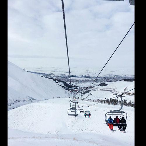 Snow Palandöken Dağı Erzurum Winter Wonderland Winter Kayak World Cold Temperature Travel Destinations Mountain