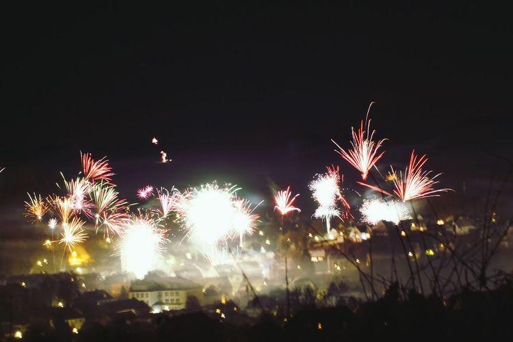 Celebration Night Exploding Firework Display No People Firework Sky 2017 New Year 2017 Sony A-68 2017 🍾🎇🎉❤ Dark Colorful Colours Outdoors Celebration Fog Smoke