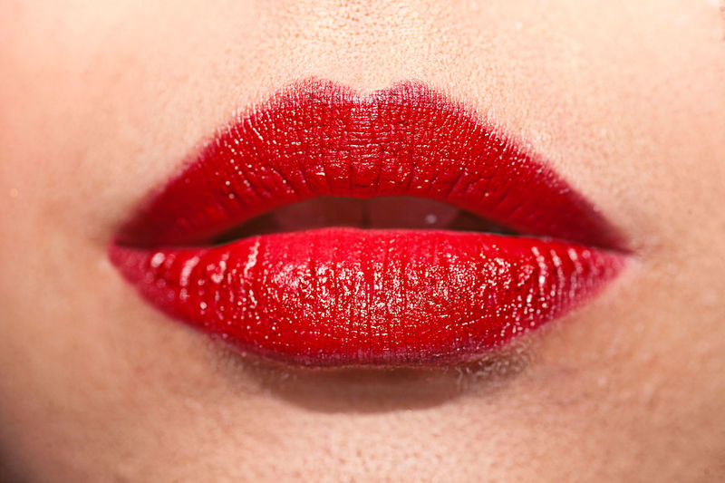 Human Lips Lipstick Make-up Human Body Part Body Part Human Mouth Adult Women Human Skin Skin Red Beauty Human Face Close-up Glamour Beautiful Woman Fashion Red Lipstick Human Teeth Body Care And Beauty One Person