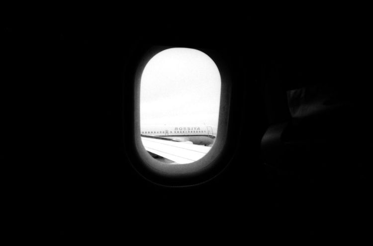 to fly Airport Analogue Photography Black And White Close-up Design Flight Flying Forbidden No People On The Way Plane Plane Window Rossiya Russia Saint Petersburg Sign Sky Trip Urban Window