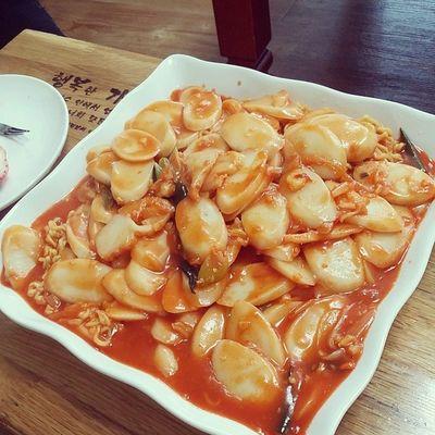 주일 집 홈메이드 Homemade instafood instasize instadaily daily foodstagram 떡볶이 맛스타그램 먹스타그램