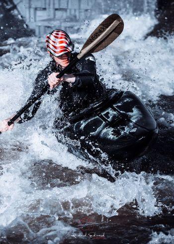Nikonphotography Nikon Sport One Person Water Motion Nature Aquatic Sport Extreme Sports Adventure Splashing