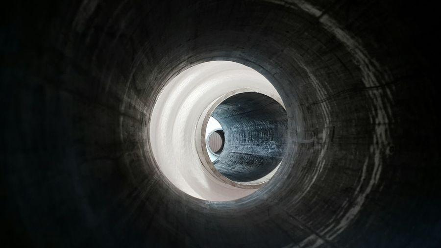 Full frame of pipes