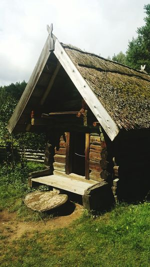 Architecture Built Structure Countryside Scene Traditional House National Park Lithuania