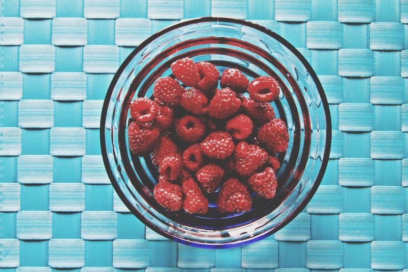 Summer Food Raspberries Love