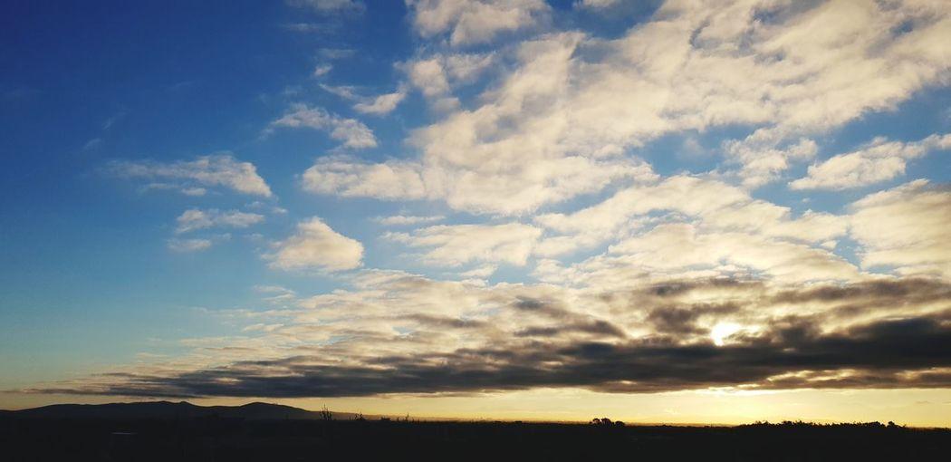 Sunrise Sunrise Blue Sky Cloud - Sky Atmospheric Mood Cloudscape Fluffy