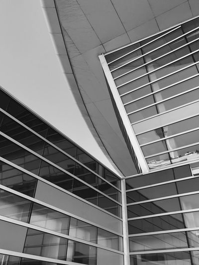 San Juan Airport Architecture Built Structure Low Angle View Building Exterior Modern Window No People Day Skyscraper City Outdoors Airport Puerto Rico San Juan PR Terminal A Jetblue Blackandwhite Black And White