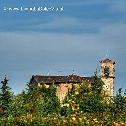 la Chiesa di Sant'Ambrogio a Morazzone the church of Morazzone, our hometown LivingLaDolceVita