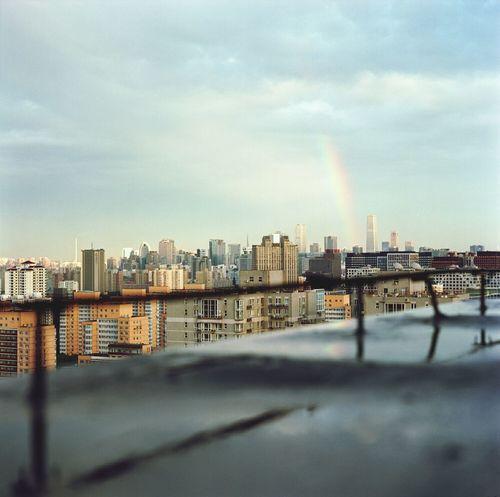 rainbow Mamiya C330 120 Film Landscape Kodakportra400