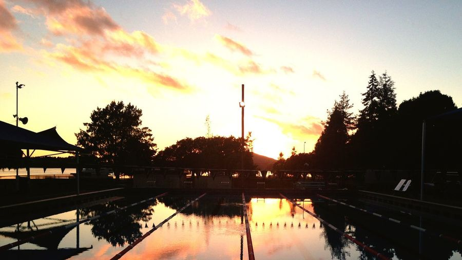 a tauranga sunrise never disappoints. Sunrise Water Reflection Outdoors No People Sun Beauty In Nature First Eyeem Photo