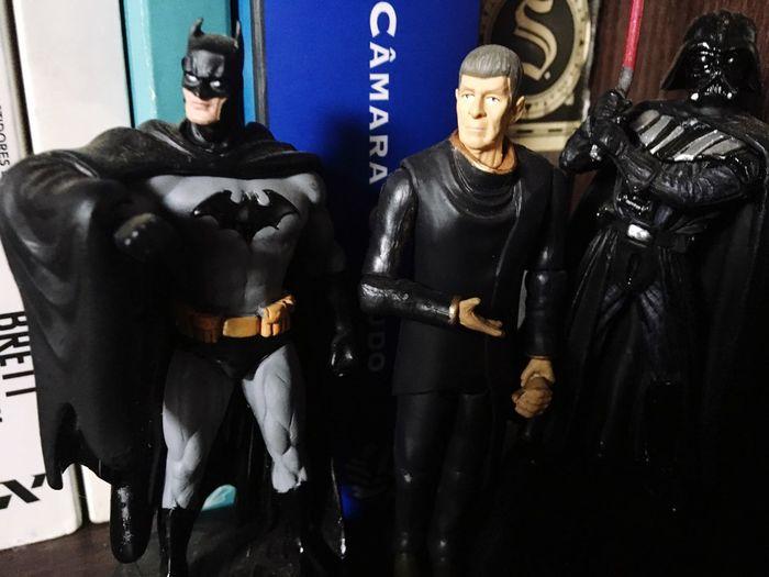 Batman Spock Darthvader