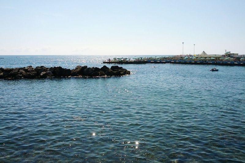 Blue Wave Sea Landscape Nature Blue Blue Sky Beautiful Day Summer ☀ Inspiring Photography in Livorno, Italia/ Leghorn, Italy