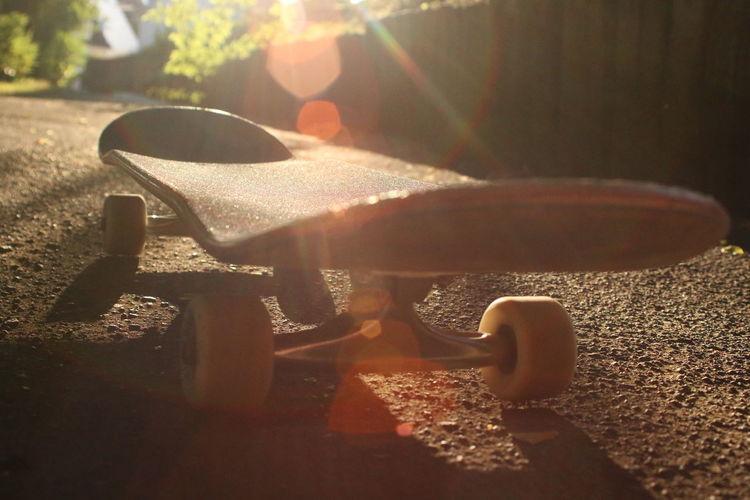 Skateboard in